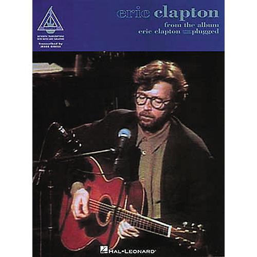Hal Leonard Eric Clapton Unplugged Guitar Tab Book