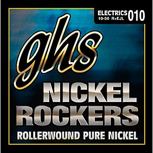GHS Eric Johnson Signature Series Nickel Rockers Light Electric Guitar Stri... by GHS