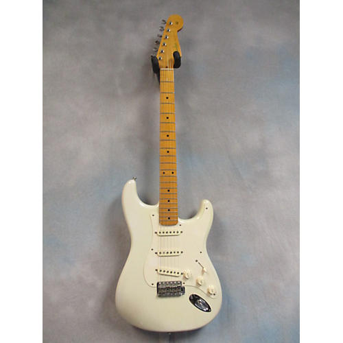 Fender Eric Johnson Signature Stratocaster Solid Body Electric Guitar White