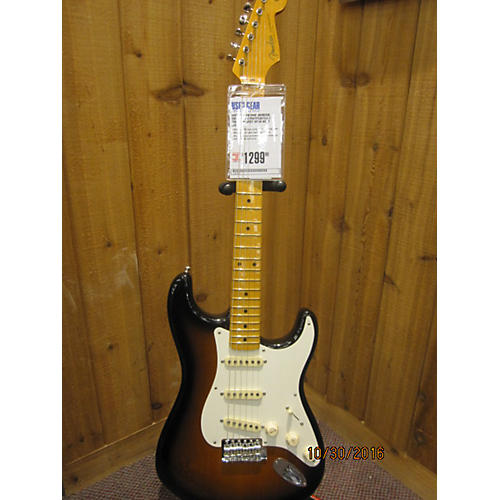 Fender Eric Johnson Signature Stratocaster Solid Body Electric Guitar-thumbnail