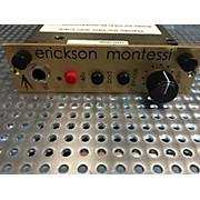 A Designs Erickson Montessi 500 Pre Microphone Preamp