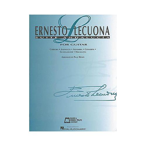 Hal Leonard Ernesto Lecuona - Suite Andalucia Guitar Tab-thumbnail