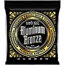 Ernie Ball Aluminum Bronze Extra Light Acoustic Guitar Strings (P02570)