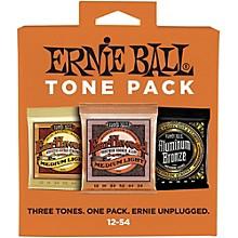 Ernie Ball Ernie Ball Medium Light Acoustic Guitar String Tone Pack
