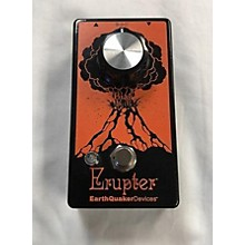 Earthquaker Devices Erupter Fuzz Pedal Effect Pedal