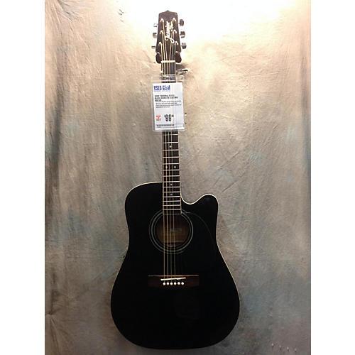 Takamine Es31c Black Acoustic Electric Guitar-thumbnail