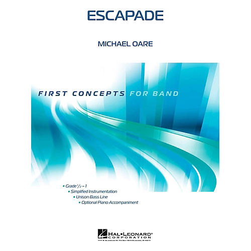 Hal Leonard Escapade - First Concepts Series Concert Band Level .5 to 1-thumbnail
