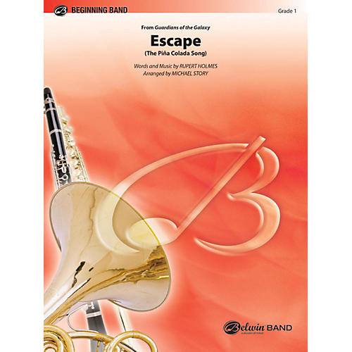Alfred Escape (from Guardians of the Galaxy) Concert Band Grade 1-thumbnail