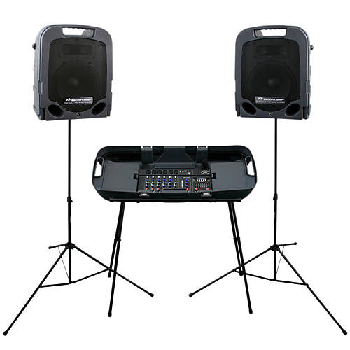 Peavey Escort 3000 Self Powered Portable PA System 300 Watts-thumbnail