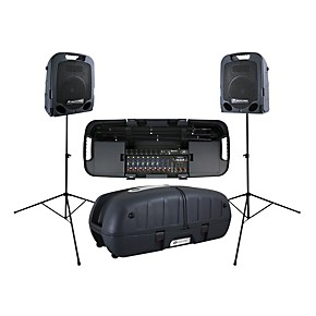 peavey escort 6000 portable pa system 600 watts guitar center. Black Bedroom Furniture Sets. Home Design Ideas