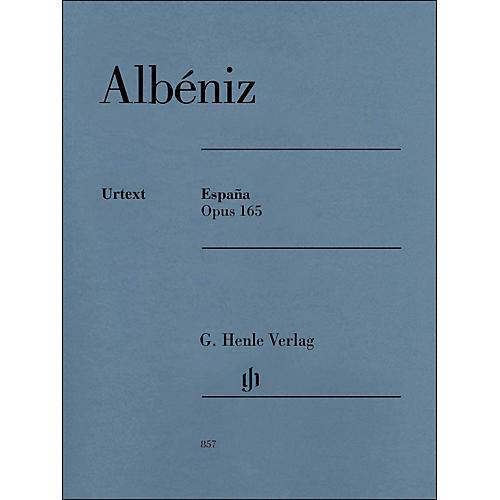 G. Henle Verlag Espana Op. 165 Piano Solo By Albeniz / Mullemann