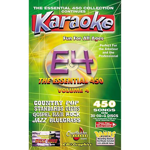 Chartbuster Karaoke Essential 450 Volume 4 CD+G