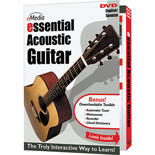 Emedia Essential Acoustic Guitar Instructional DVD-thumbnail