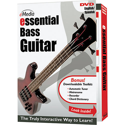 Emedia Essential Bass Instructional DVD-thumbnail