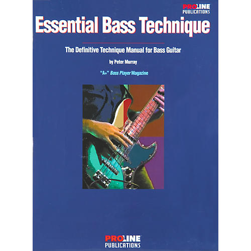 Proline Essential Bass Technique Book-thumbnail