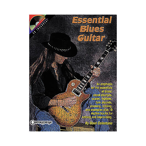 Centerstream Publishing Essential Blues Guitar Book/CD-thumbnail