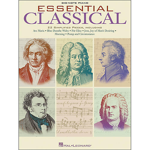 Hal Leonard Essential Classical for Big Note Piano