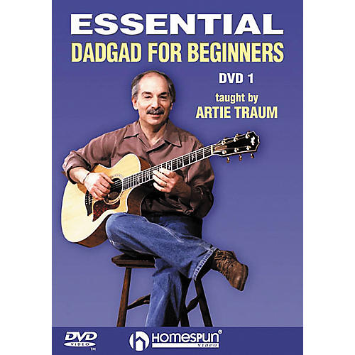 Homespun Essential DADGAD for Beginners 1 (DVD)
