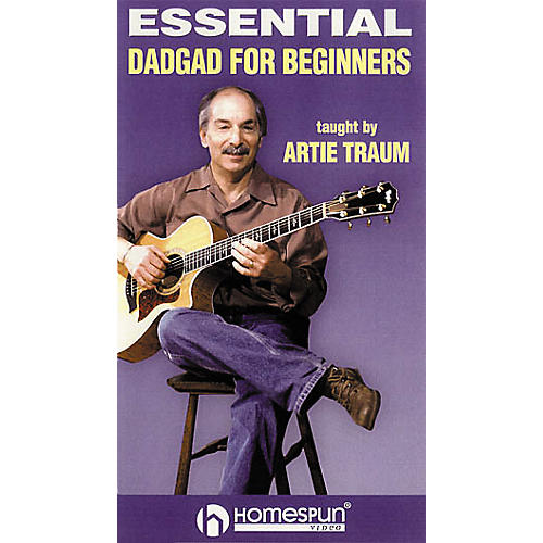 Homespun Essential DADGAD for Beginners 1 (VHS)-thumbnail