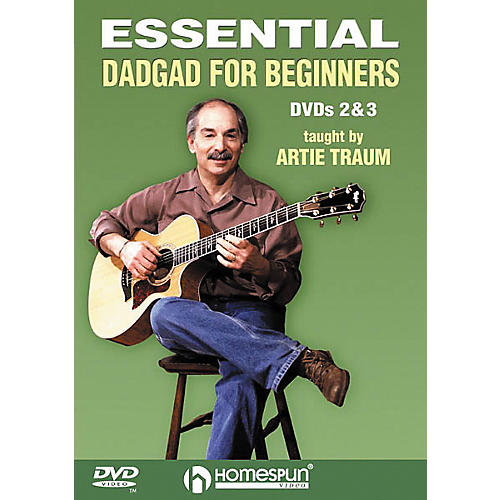 Homespun Essential DADGAD for Beginners 2 and 3 (DVD)