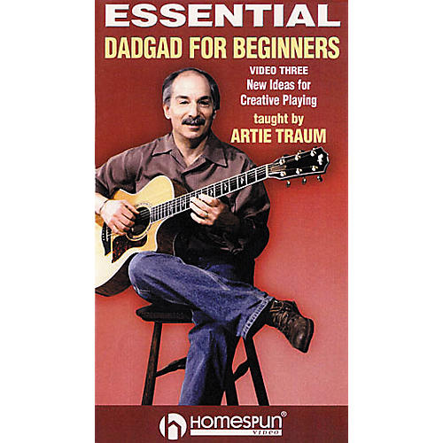 Homespun Essential DADGAD for Beginners 3 (VHS)-thumbnail