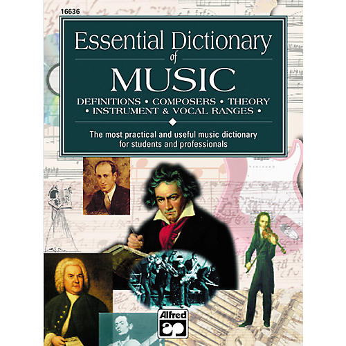 Alfred Essential Dictionary of Music Book-thumbnail