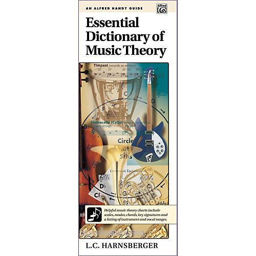 Alfred Essential Dictionary of Music Theory  Handy Guide-thumbnail