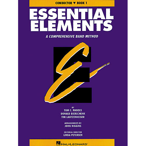 Hal Leonard Essential Elements - Book 1 (Original Series) (Conductor) Concert Band