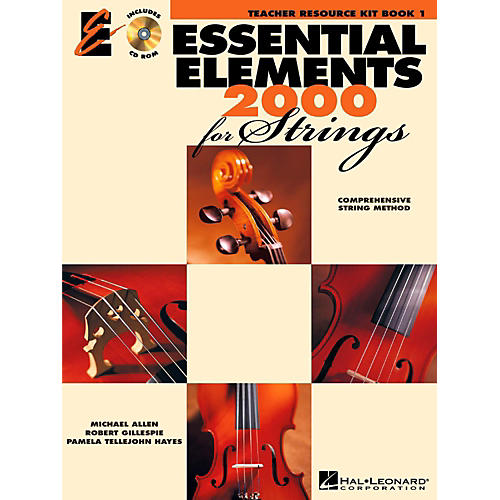 Hal Leonard Essential Elements 2000 for Strings - Teacher Resource Kit (Book 1 with CD-ROM)-thumbnail