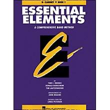 Hal Leonard Essential Elements Book 1 B Flat Clarinet