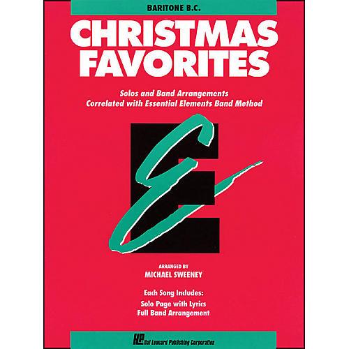 Hal Leonard Essential Elements Christmas Favorites Baritone B.C.-thumbnail