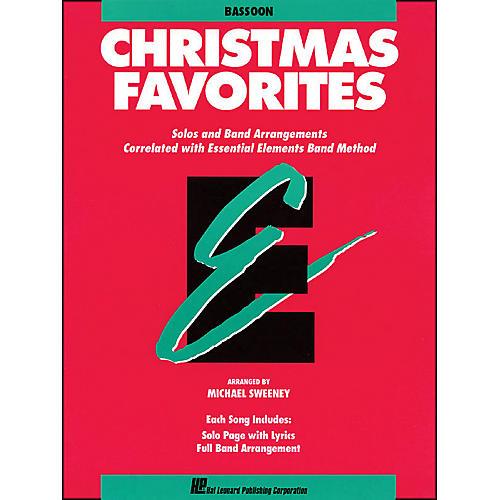 Hal Leonard Essential Elements Christmas Favorites Bassoon-thumbnail