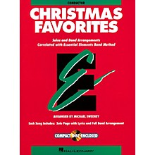Hal Leonard Essential Elements Christmas Favorites Concert Band Level .5 to 1.5 Arranged by Michael Sweeney