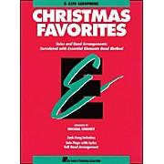 Hal Leonard Essential Elements Christmas Favorites E Flat Alto Saxophone