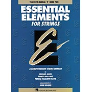 Hal Leonard Essential Elements For Strings Teachers Manual Book 2