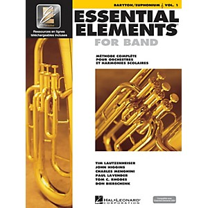 Hal Leonard Essential Elements French Edition EE2000 Baritone/Euphonium T.C...