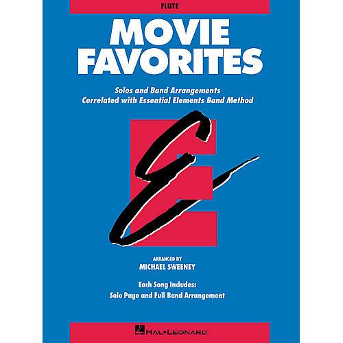 Hal Leonard Essential Elements Movie Favorites Concert Band Level 1-1.5 Arranged by Michael Sweeney