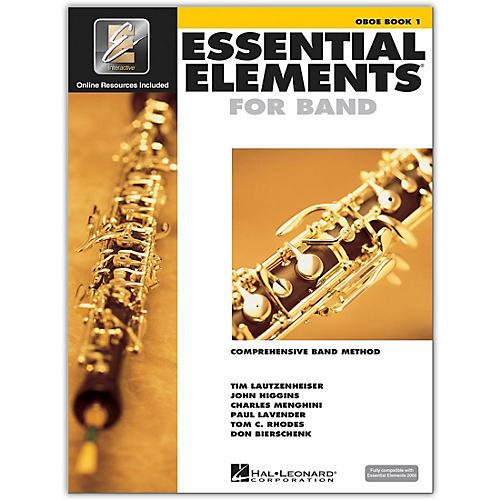 Hal Leonard Essential Elements Oboe 1 Book/Online Audio