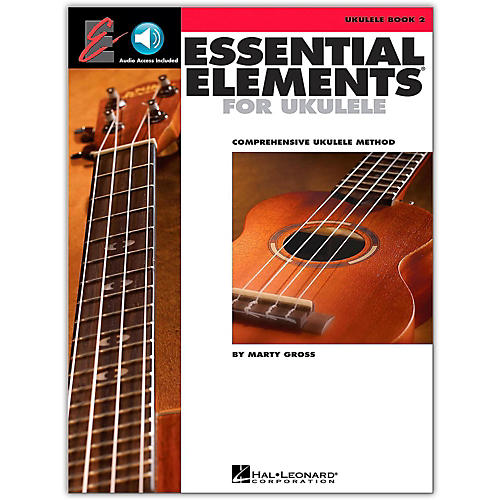 Hal Leonard Essential Elements Ukulele Method Book 2 (Book/Online Audio)-thumbnail