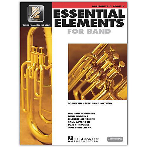 Hal Leonard Essential Elements for Band - Bariton B.C. 2 Book/Online Audio