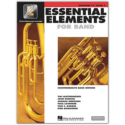 Hal Leonard Essential Elements for Band - Baritone T.C. (Book 2 with EEi)-thumbnail
