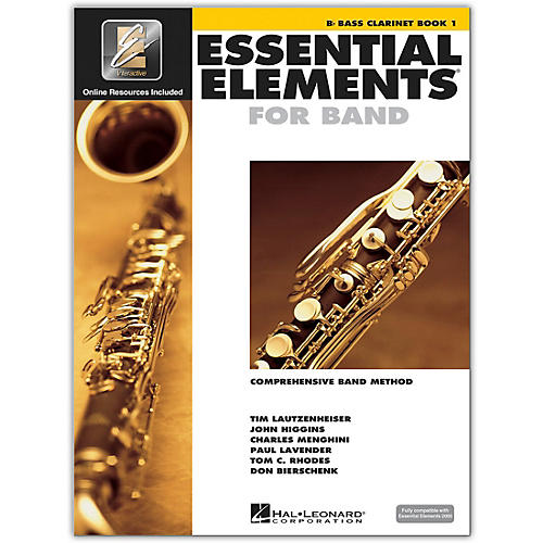 Hal Leonard Essential Elements for Band - Bass Clarinet 1 Book/Online Audio