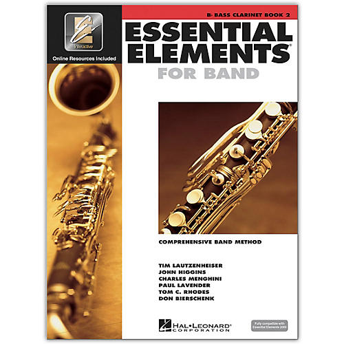 Hal Leonard Essential Elements for Band - Bb Bass Clarinet (Book 2 with EEi)-thumbnail