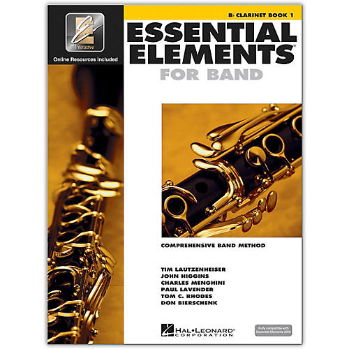 Hal Leonard Essential Elements for Band - Bb Clarinet 1 Book/Online Audio-thumbnail