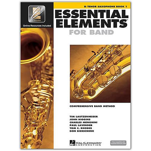 Hal Leonard Essential Elements for Band - Bb Tenor Saxophone 1 Book/Online Audio