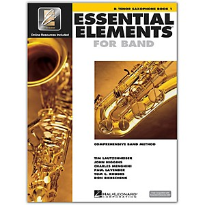 Hal Leonard Essential Elements for Band - Bb Tenor Saxophone Book 1 with E...