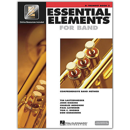 Hal Leonard Essential Elements for Band - Bb Trumpet (Book 2 with EEi)-thumbnail