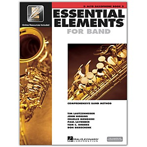 Hal Leonard Essential Elements for Band - Eb Alto Saxophone Book 2 with EE... by Hal Leonard