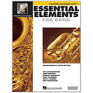 Hal Leonard Essential Elements for Band - Eb Baritone Saxophone Book 1 wit... by Hal Leonard