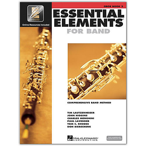 Hal Leonard Essential Elements for Band - Oboe (Book 2 with EEi)-thumbnail
